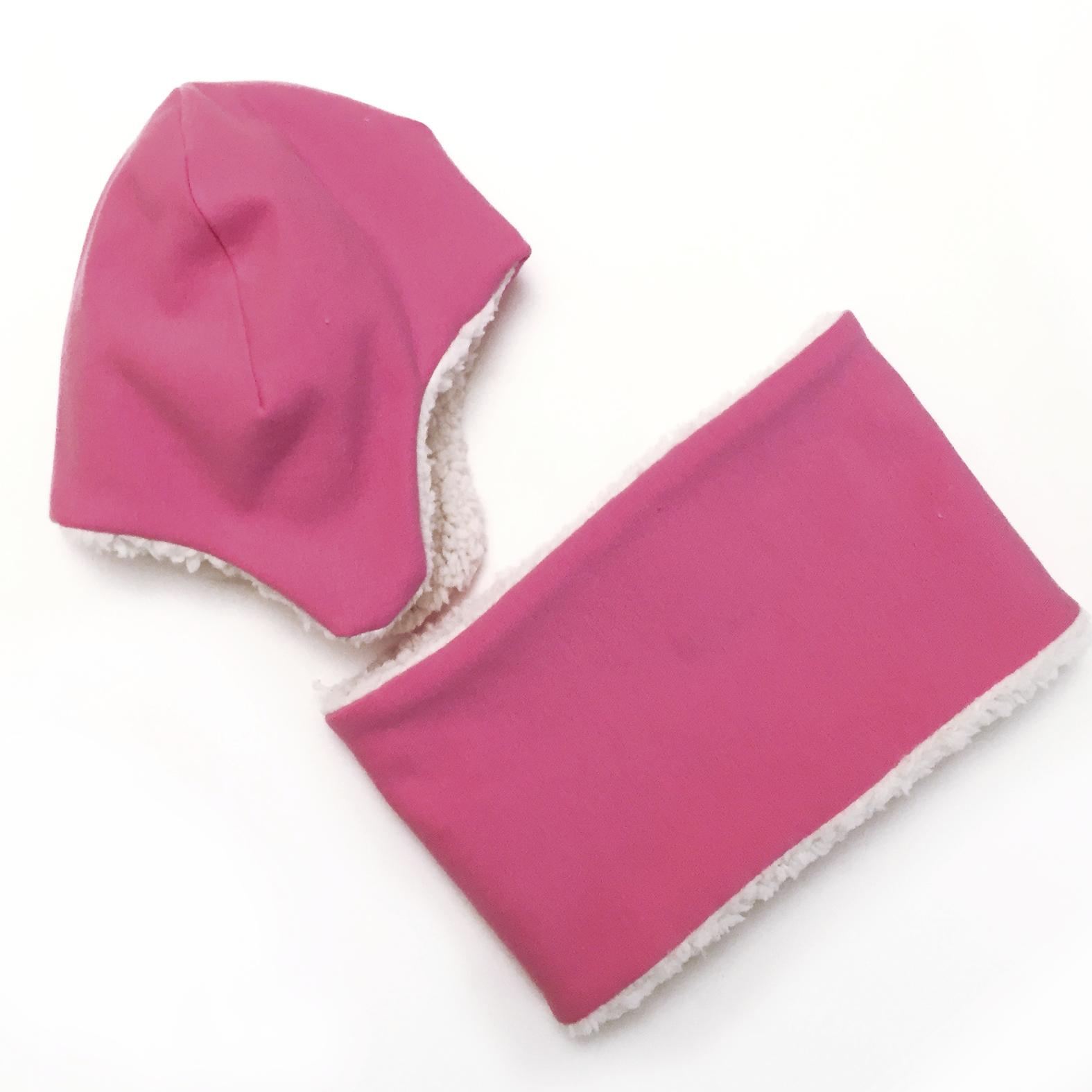 Cappello e scaldacollo - Baby hat - Cappellino morbido - Paulaster 99f1239fd736